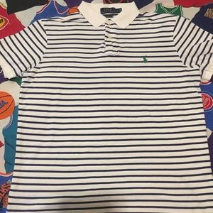 Vintage Polo by Ralph Lauren striped polo shirt